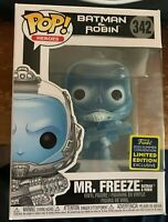 Funko Pop Mr Freeze #342 Batman and Robin DC Comics SDCC Shared Exclusive 2020