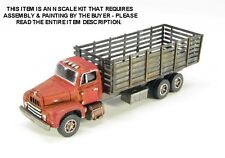 N SCALE: NEW RELEASE! 1950's ERA R-190 STAKE BED TRUCK-SHOWCASE MINIATURES #102