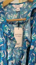 Miss Selfridge Summer Wrap Flowers pattern Dress Petites Size 8