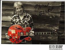 8 1/2 x 11 Glossy Photo Elvin Bishop Autograph {238}