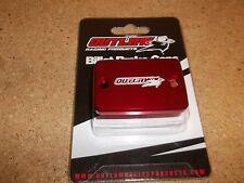 Outlaw Racing Red Front Brake Master Cylinder Cover Yamaha Raptor Honda TRX 450