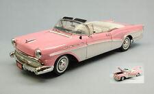 Buick Roadmaster 1957 Pink / White 1:18 Model MOTORMAX