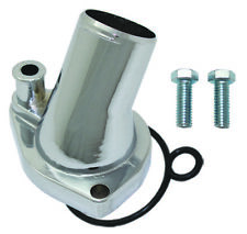 Redhorse Thermostat Housing 4910-302-24-1; 80° Swivel Blue Aluminum for SBF