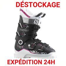 "chaussure de ski SALOMON ""X-MAX"" TAILLE:39- MONDOPOINT:25/25.5 COMME NEUVE !!"