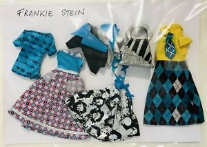 Monster High Frankie Stein Outfits Fashion Clothes Accessories VGC