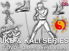 JEET KUNE DO & KALI [7 DVD SET] StickFighting DVD Eskrima Jkd Arti Marziali
