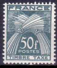 1946-55 FRANCE Timbres-taxe Y & T N° 88  Neuf* avec charnière
