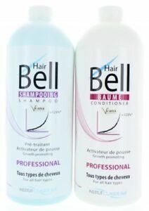 HairBell Pro Shampoo & Conditioner (2x1000ml) wie HairJazz HairPlus Hair Jazz
