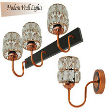 Industrial Retro Pendant Light 3Shade Suspended Wall Lights Style Crystal Lamp