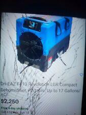 Dri-Eaz F413 Revolution Lgr Compact Dehumidifier, Portable, Up to 17 Gallons/Day