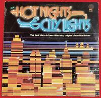 Hot Nights & City Lights K-Tel Disco Compilation LP 1979 Original Vinyl Album
