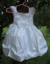White Baptism/Christening Baby Girl dress SIZE 24 Months