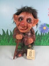 """OLD MAN - 8"""" KRAGE TROLL DOLL  - Made in Norway - VERY RARE"""