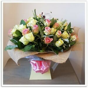 FRESH FLOWERS Delivered UK Mixed Rose Bouquet Free Flower Delivery