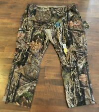 NEW Mens Mossy Oak BreakUp Country Scent Control Pants 2XL 3XL Waterproof Camo