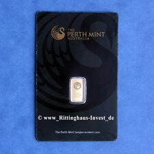 lingots d'or 1 G 1 gramme or fin Perth mint Kangourou BLISTER KANGOUROU OR 99,99