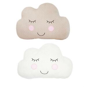 Sass & Belle Beige Or White Sweet Dreams Cloud Decorative Cushion