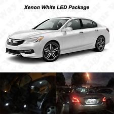 12 x White LED Interior Bulbs Lights Package Kit For 2013-2017 2018 Honda Accord