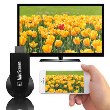 MiraScreen Miracast Wifi Display Dongle Receiver 1080P Wireles AirPlay DLNA HDTV