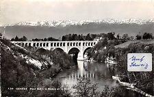 BG29940 geneve pont butin le rhone et le jura switzerland   CPSM 14x9cm
