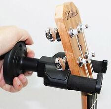 Universal Guitar Stand Cradle Wall Mount Hanger Holder Rack Hook Clip Black New