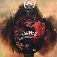 Kampfar - Djevelmakt [New Vinyl LP] Colored Vinyl, Yellow, UK - Import
