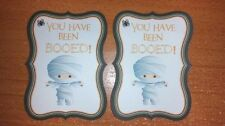 NEW! YOU HAVE BEEN BOOED! HALLOWEEN CARDSTOCK DIE CUTS! SET OF 2