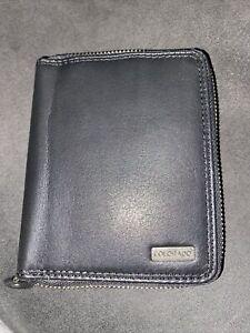 Colorado Mens Leather Black Zip Around Wallet Rrp $59.99