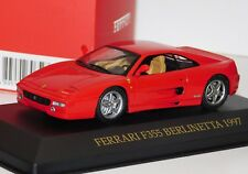 FERRARI F355 BERLINETTA 1997 RED FERRARI COLLECTION IXO FER015 1/43