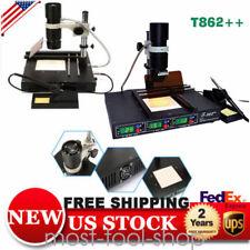 T862 Bga Smt Smd Infrared Rework Station Solding Station Irda Welder Xbox 110v