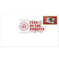 USPS New Lunar New Year Rooster Digital Color Postmark