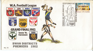 W.A. FOOTBALL LEAGUE - 1982 SWAN DISTRICTS PREMIERS - COVER