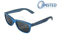 High Quality Childrens Blue Frame Wayfarer Kids Childs Sunglasses KR007