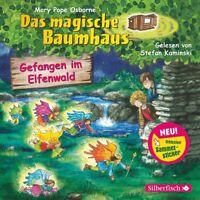 DAS MAGISCHE BAUMHAUS - GEFANGEN IM ELFENWALD  (HÖRBUCH) CD NEU