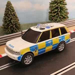 Scalextric 1:32 Car - C2808 Police Range Rover DPR #L