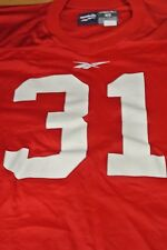 Wisconsin University Game Used Football Jersey Size 46 #31