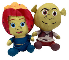 Shrek and Princess Fiona 10 Inch Plush Toy Set of 2