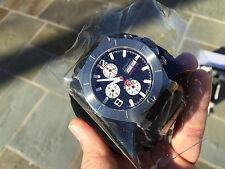 Renato Men's Wilde-Beast Swiss Automatic Chronograph Alligator Strap Watch