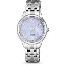 NEU Citizen Silber Damen Armbanduhr  EM0720-85Y