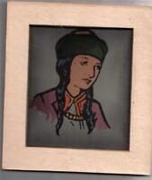 BEZALEL GUR ARIEH YEMENITE WOMAN PRINT JUDAICA 1930 Jewish Art Palestine Women