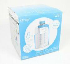 Kiinde Twist 8 oz Breast Milk Storage & Feeding Pouches - 40 Pack Xl Brand New!