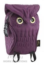 Owl 3D Pouch PURPLE MORN CREATIONS bag iphone camera guardian legend hooter