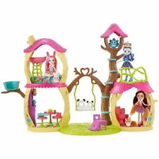 Enchantimals Tree House Playhouse Panda Set