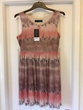 Dorothy Perkins Pink/Beige Dress size 12 new with tags RRP £36