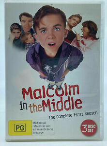Malcolm in the Middle SEASON 1 DVD (SET) Series One First - RARE Australian R4
