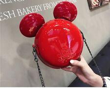 Women Cute Mickey Minnie Mouse Handbag Tote Shoulder Bag Handbag Purse