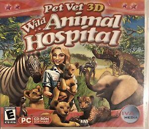 Pet Vet 3D: Wild Animal Hospital Pc New Win10 8 7 XP Be A Veterinarian Sim