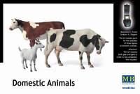 Master Box — Domestic Animals — Plastic model kit 1:35 Scale #3566