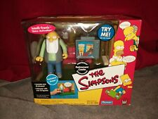 Playmates 2002 The Simpsons Interactive Environment Retirement Castle Jasper