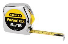 Stanley PowerLock  Tape Measure  3/4 in. W x 16 ft. L, 33-158